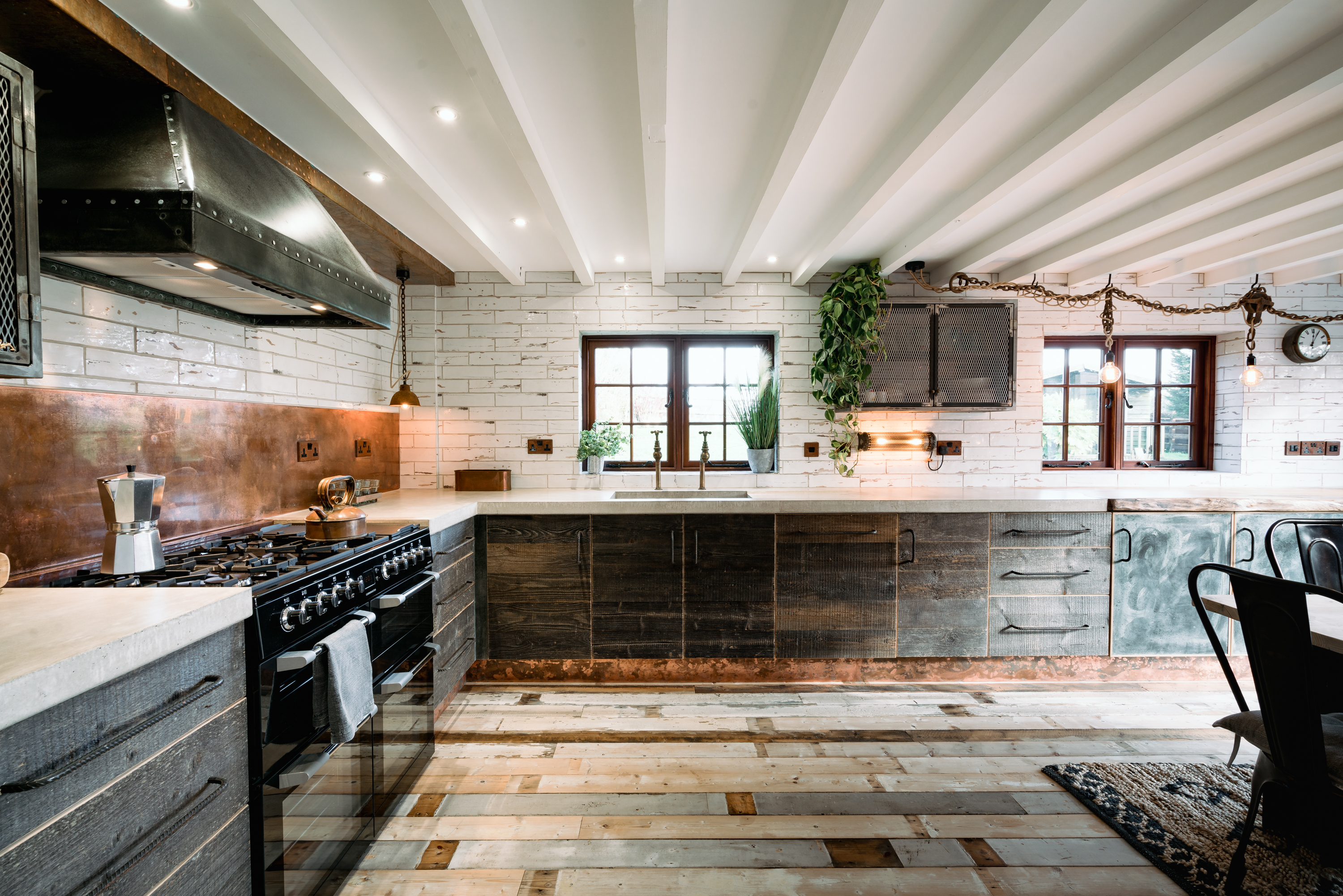 Nautical Rustic Kitchen
